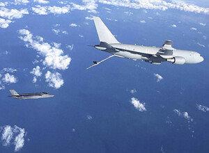 [화보] 첫 대서양 횡단비행에 성공한 F-35