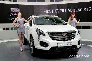 캐딜락 럭셔리 크로스오버 모델 'XT5' & 레이싱모델