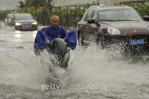 베이징 등 중국 북부지방 폭우…이재민 170만명