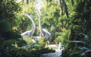 아침에 공룡과 인사? 세계 최초 정글 호텔 들어선다