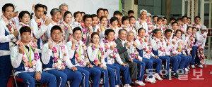 """리우올림픽 선수단 해단식…""""종합 8위 하고 돌아왔습니다"""""""