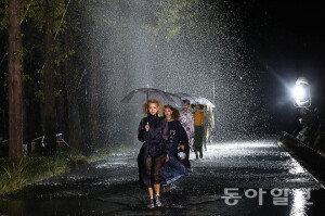 [화보] 서울365패션쇼… '물 위를 걷다'