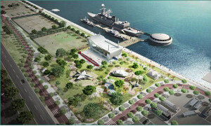 한강 망원지구에 함상공원 조성…퇴역군함 4척 활용