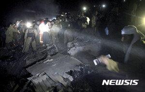 파키스탄 항공기 추락… 탑승객 48명 전원 사망