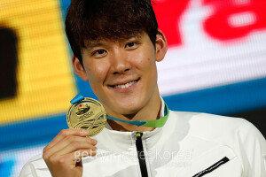 박태환, 쇼트코스 세계선수권 1500m 우승…'대회 3관왕'