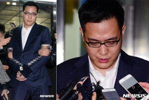 '인성 결핍 금수저' 한화 3남 김동선, 포승줄에 묶여 이감