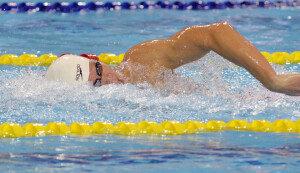 박태환, 쇼트코스 세계선수권 400m 금메달