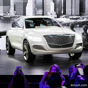 세계 최초 공개 '제네시스 SUV'
