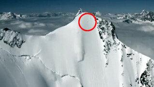 목숨 건 스키 활강<br>4천미터 알프스산맥 직벽에서…