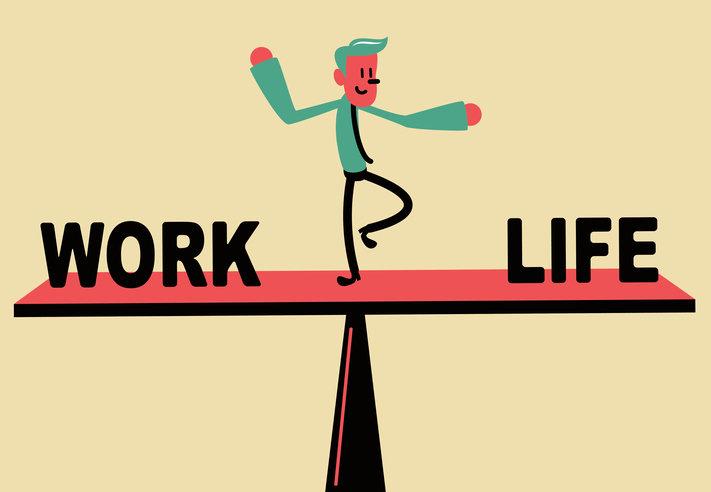일과 개인 삶의 시간 비율 9대1…소상인 '워라밸' 점수는