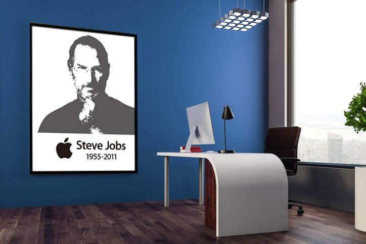 창의력의 아이콘 스티브 잡스 사진 걸어두면 오히려 창의성이 메마른다?