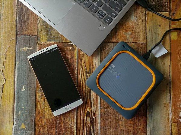 [리뷰] 야외 촬영 전문가를 위한 장비, 마이패스포트 와이어리스 SSD