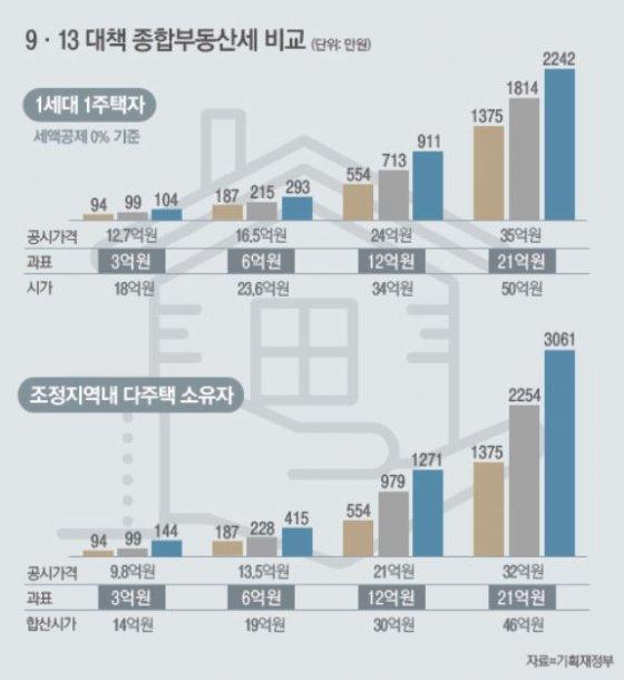 [9·13대책 Q&A]서울 2주택자 종부세 얼마나 오르나?