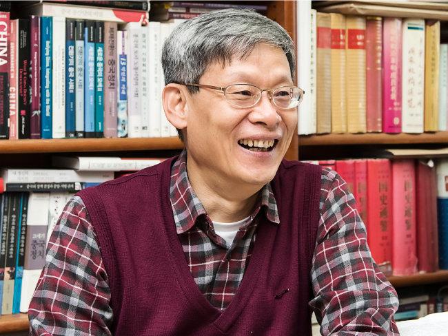현대 중국정치 권위자 조영남 서울대 교수. [홍태식 객원기자]