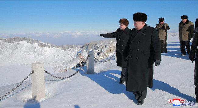 2018년 김정은 정권 권력지형