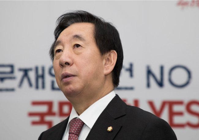 김성태 자유한국당 원내대표. [조영철 기자]