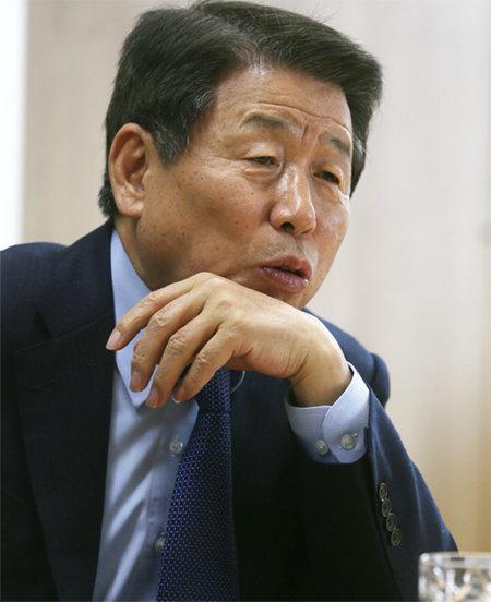 '노무현 참모' 유인태 전 청와대 정무수석