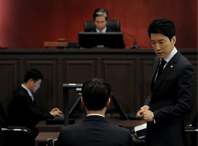 2014년 방영된 MBC 법률드라마  '개과천선'의 한 장면. [동아DB]