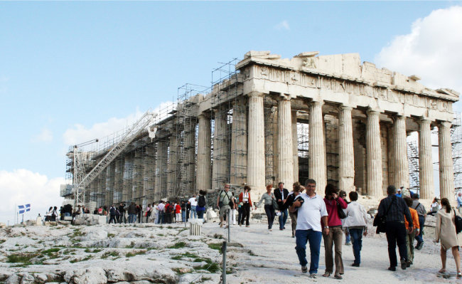 그리스 아테네 아크로폴리스. [뉴시스]