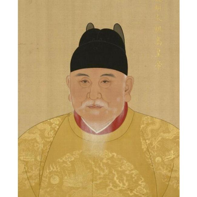 명나라 태조. 가난 탓에 절에서 자란 주원장은 훗날 명나라 개국 황제가 되었다.