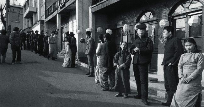 2017년 6월 인천 중구 한중문화관 갤러리에서 열린 '인천 화교 이야기 전시회'에 출품된 화교들의 모습을 담은 사진. [김보섭 제공]