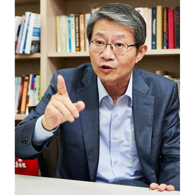 류길재 전 통일부 장관. [홍중식 기자]