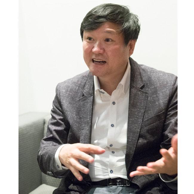 최진석 한국교통연구원 고속철도·산업연구팀장. [지호영 기자]