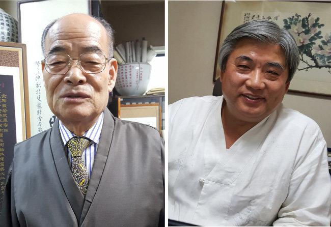 """역술인 조성우 씨는 """"기해년(2019년) 북한에서는 큰 사달이 일어날 수 있다""""고 예측했다.(왼쪽) 역술인 최용권 씨는 """"김정은은 내년에 믿었던 이에게 당할 수 있는 삼형살이 들었다""""고 말했다."""