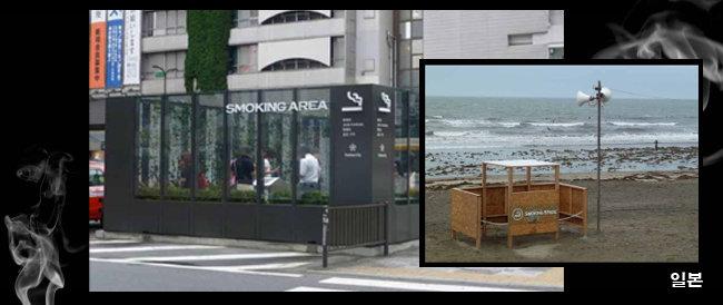 2022년 '간접흡연 0%' 일본서 배우자…