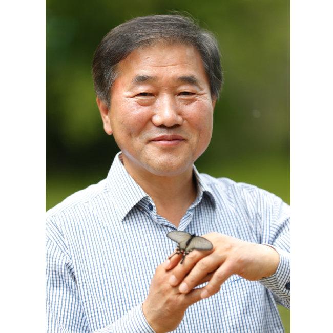 이강운 홀로세생태보존연구소 소장 겸 서식지외보전기관협회 회장. [김형우 기자]