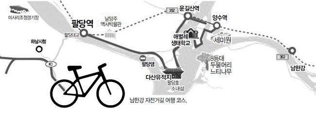여성 초보 라이더의 남한강 여행