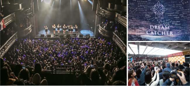 드림캐쳐는 2월 영국 런던, 포르투갈 리스본 등 유럽 7개 도시에서 단독 콘서트를 열었고 대만, 일본 등 아시아 각국에서도 팬들과 만나고 있다.