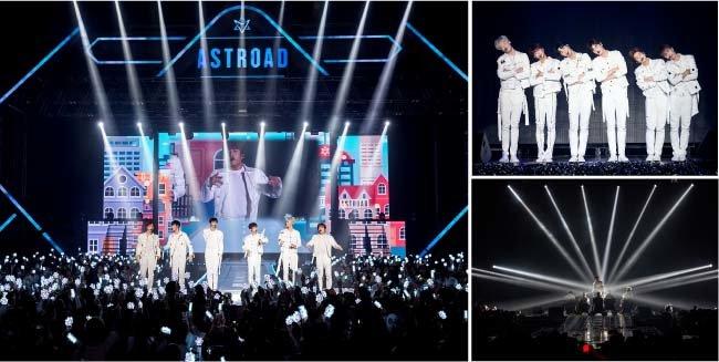 서울가요대상 한류특별상을 받은 남성 그룹 아스트로는 미국 캐나다 일본 태국 등 세계 각국에서 인기가 높다.