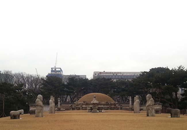 조선 9대 임금 성종의 무덤인 성릉. [출처 문화재청]