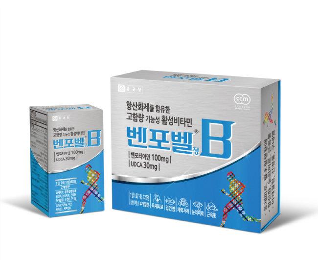 종근당 고함량 활성비타민 '벤포벨'