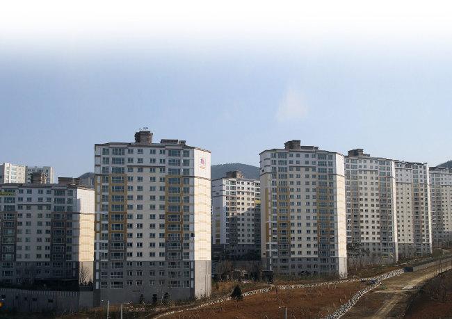 위례신도시 아파트 단지 전경. [동아DB]