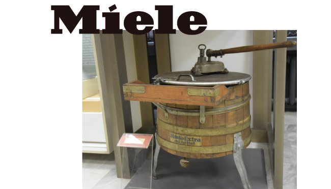 밀레 세탁기, 1915.