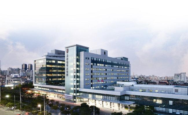 한국의 실리콘밸리에서 의료 기술 개발 중심지 구실을 하는 고대구로병원.