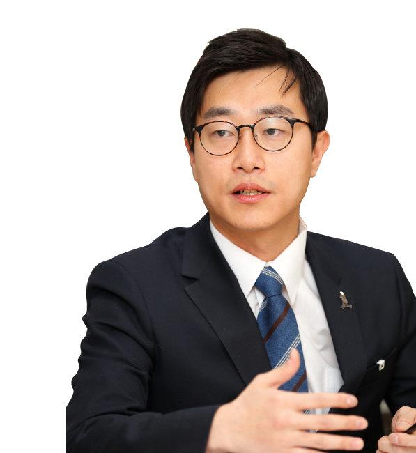 장경태 더불어민주당 전국청년위원장 [김형우 기자]