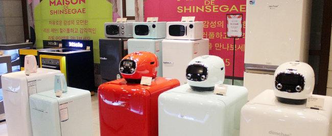 2018년 4월 신세계백화점 죽전점에서 '대우 위니아 레트로 대전'이 열렸다.