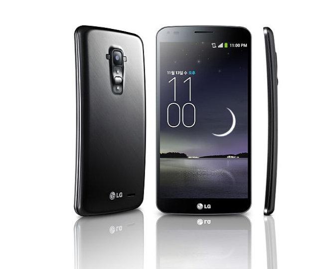 LG전자가 출시한 커브드폰 'G 플렉스'. [위키미디어]