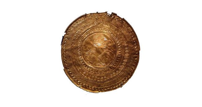바이킹 금제 메달.