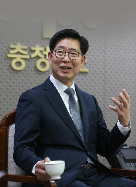 """[인터뷰] 양승조 충남지사 """"보 철거, 무리하게 목숨 걸 일 아니다"""""""