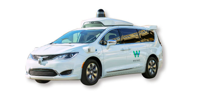 웨이모 자율주행 미니밴