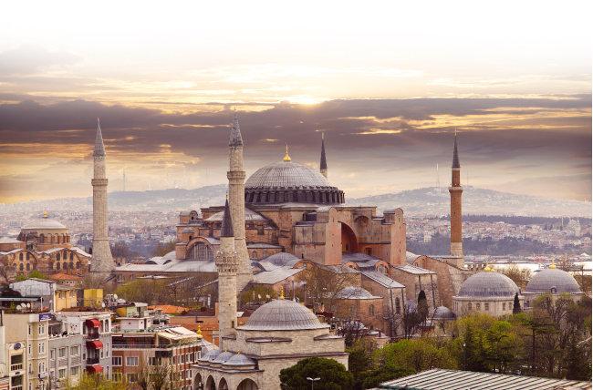 이스탄불 전경.