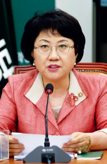 전공의법 개정안을 발의한 국민의당 최도자 의원.[뉴스1]