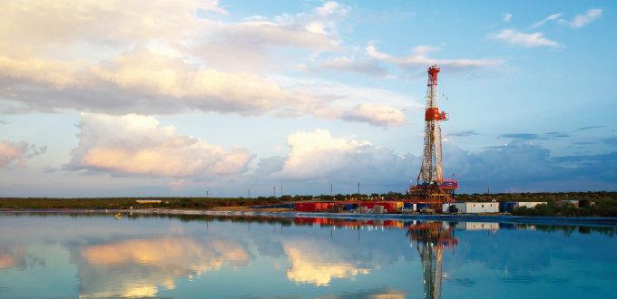 미국 텍사스 주에 위치한 석유회사 아파치의 셰일오일 추출 시설. [아파치사 홈페이지]