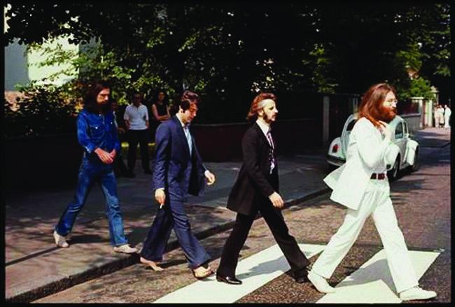 사진 작가였던 린다 매카트니가 촬영한 비틀스 사진.[사진 제공대림미술관]