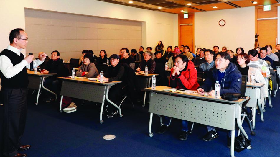 11월 27일 오후 2시 서울 중구 대한상공회의소 중회의실에서 열린 '소상공인을 위한 빅데이터 창업 세미나' 2차 행사. 지원자가 크게 늘어 수강 신청을 조기에 마감했다.[박해윤 기자]