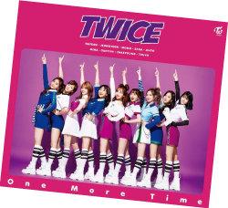 10월 발표된 트와이스의 일본 데뷔 싱글 'TWICE : One More Time'.[사진제공·CJE&M]